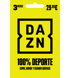 DAZN 3 Month Subscription