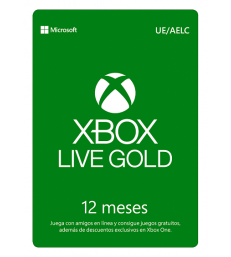 Xbox Gold Subscription 12 months